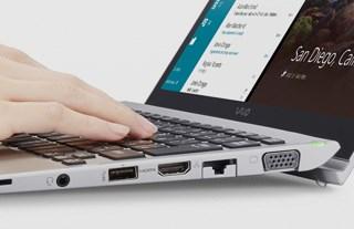 Conheça o Notebook Pro 13G VAIO com equipamento completo.